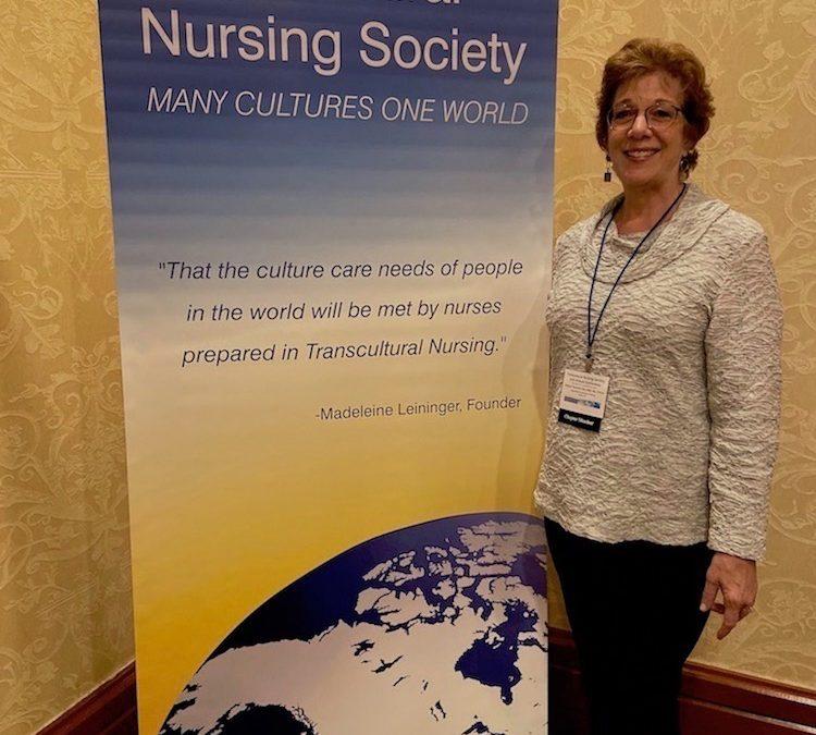 Transcultural Nursing Conference Banner with speaker Robyn Seamon